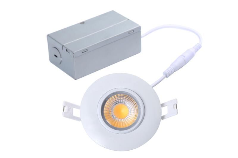 8W 700lm 3inch Gimbal LED Recessed Lighting