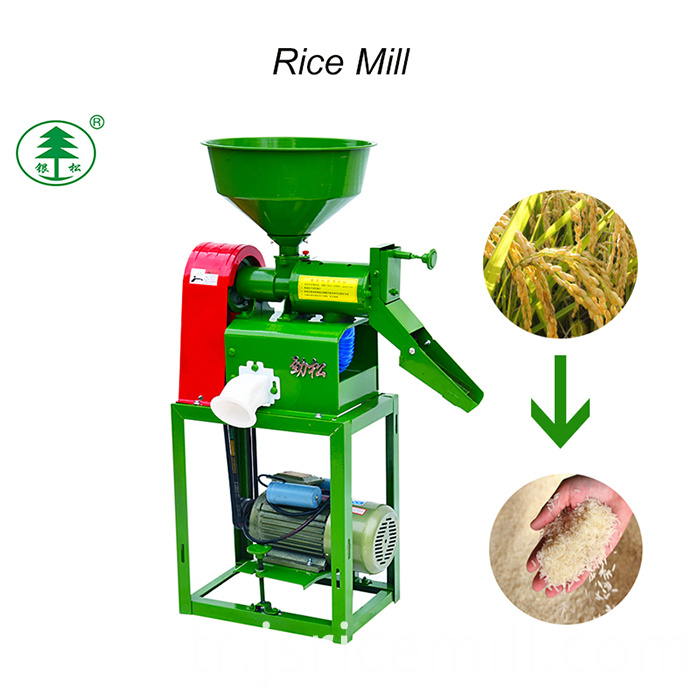 Sb-50 The Price Of Fully Auto Mini Rice Mill Plant