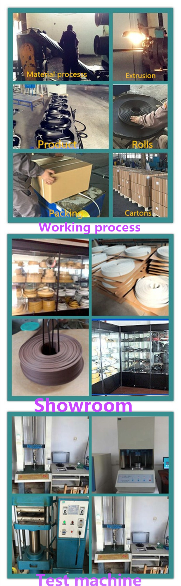 EPDM Mounting Rubber (U Channel)