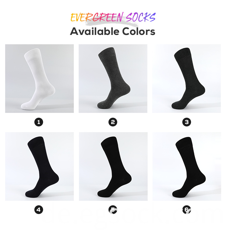 Bamboo Men Business Socks Mixed Color