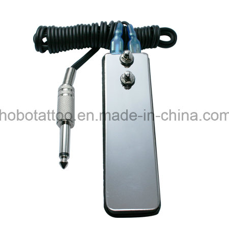 Hot Sale Professional Tattoo Stainless Steel Foot Switch with Wire