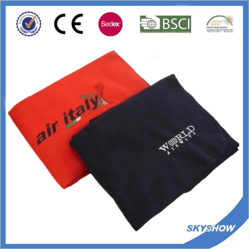 100% Polyester Promotional Full Color Printing Fleece Blanket (SSB0211)