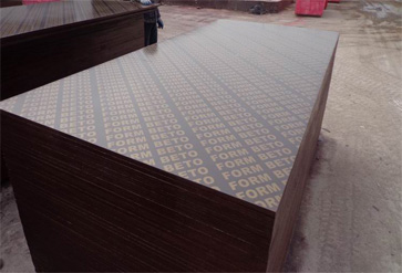 18mm Black Film Faced Plywood for Construction