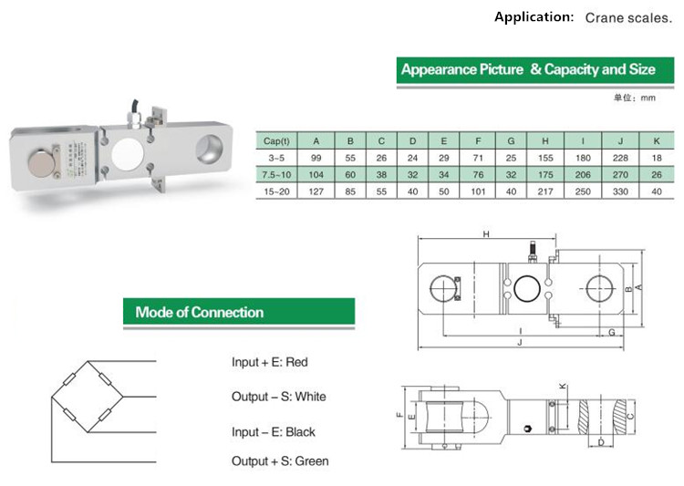 Crane Scale Load Cell