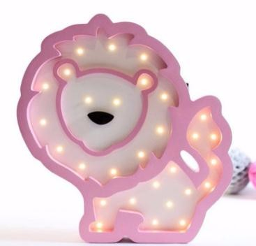 Lion Led Wall Lamp