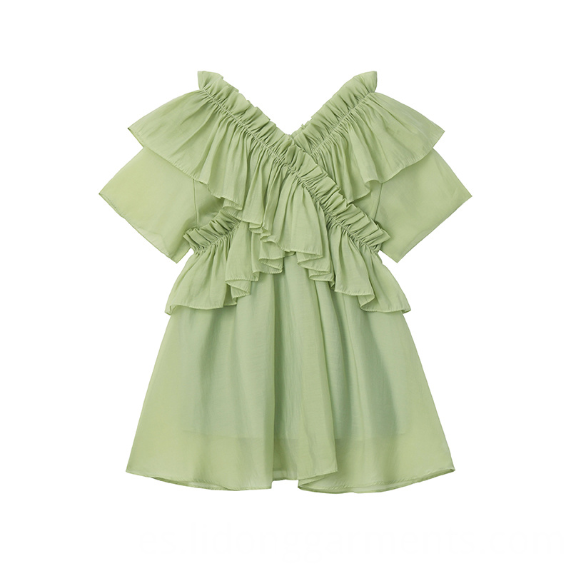 Woman Mint Dress
