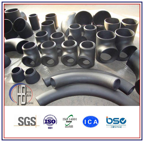 ASTM Butt Welded Fitting Steel Tee Bw Equal Reducing