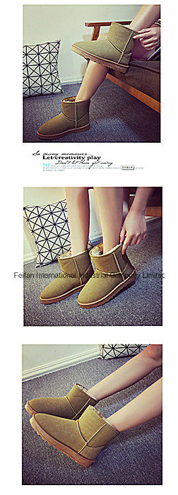 Warm Women Snow Boots Low-Tube Winter Snow Boots