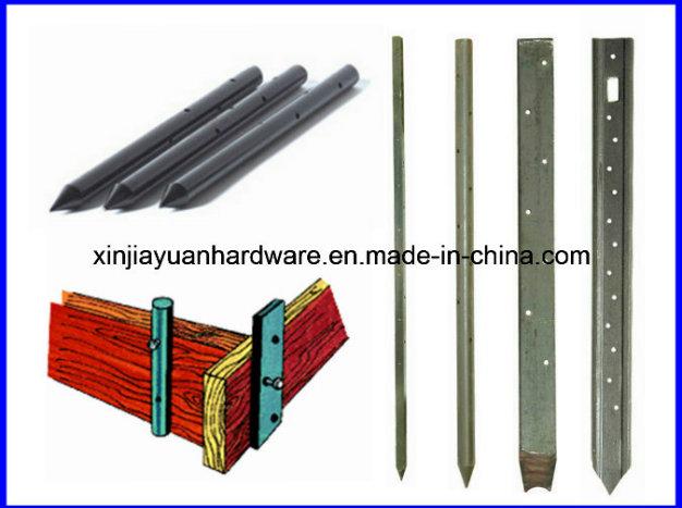 Round Steel Nail Stake
