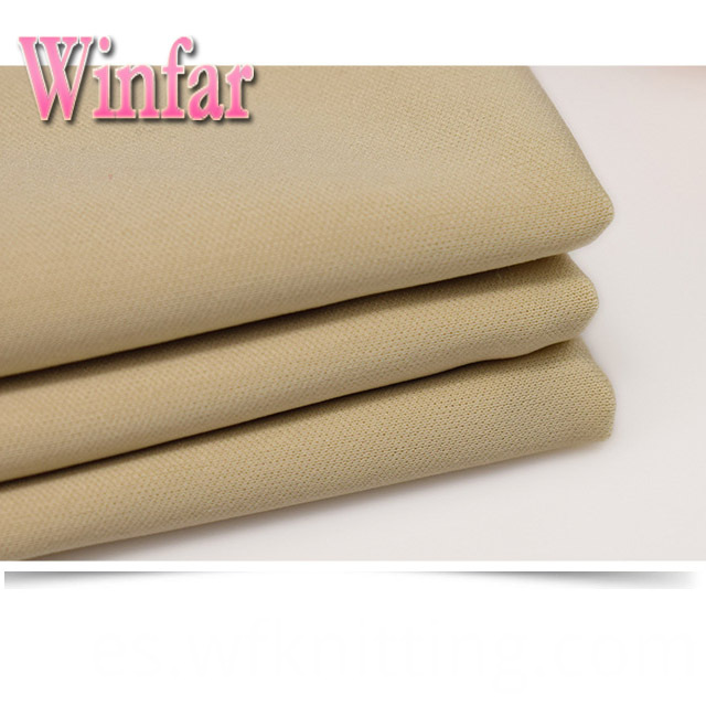 Soft 100% Polyester Interlock Fabric