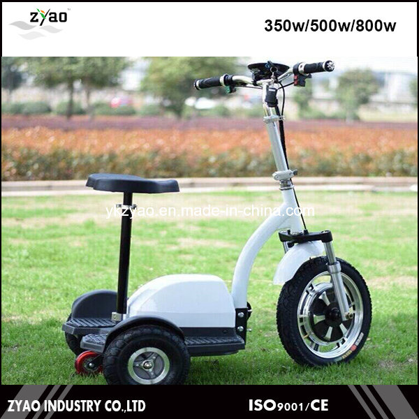 350 Watts 3 Wheels Electric Scooter with Seats Trike