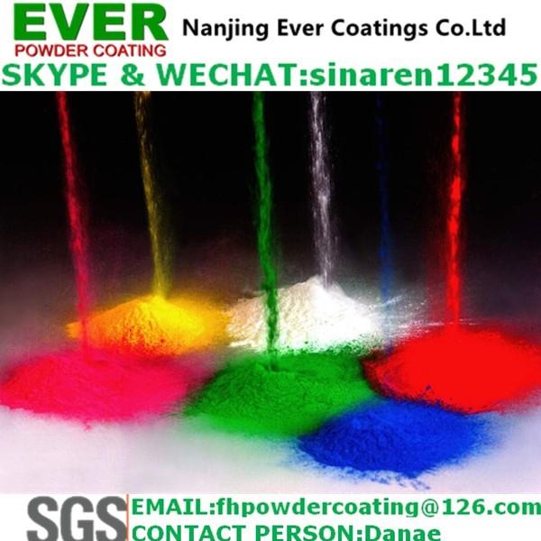 Electrostatically Spray Matt Epoxy Powder Coating