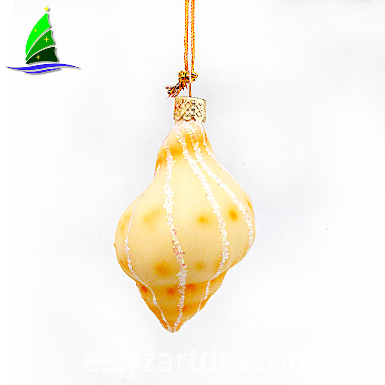 Flicker Glass Blown Ornament