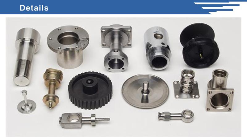 Precision Auto Air Condition Parts CNC Machining Flanges