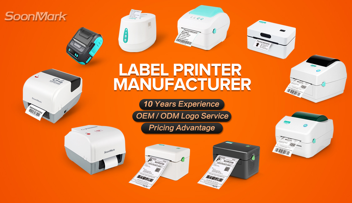 shipping barcode label printer