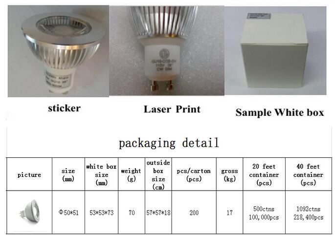 China Factory 7W COB MR16 LED Downlighter