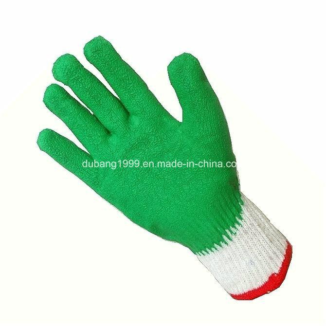 Latex Coated Gloves, Latex Crinkle Gloves, Work Gloves, Labor Protection Gloves