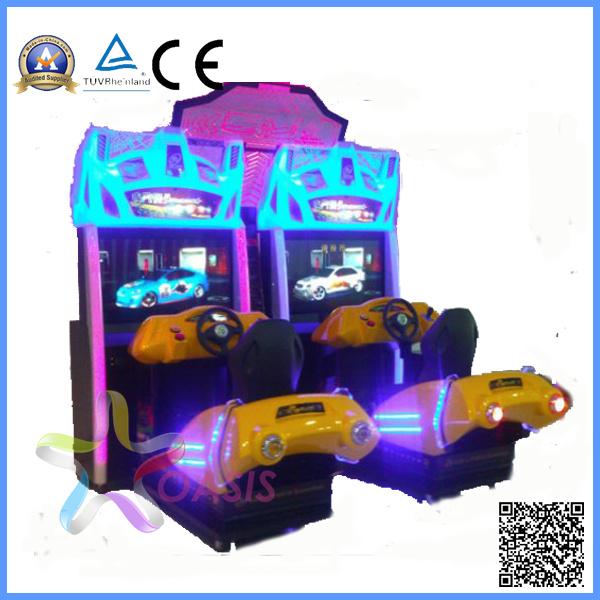 Hot 3D Motion Street Racing Car Arcade Game Machine