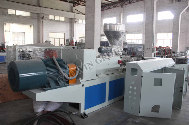 Extruder Line PE WPC Outdoor Board Production Equipments