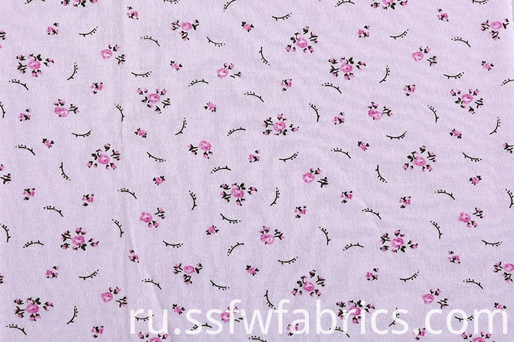 Soft Comfortable Printed Fabric