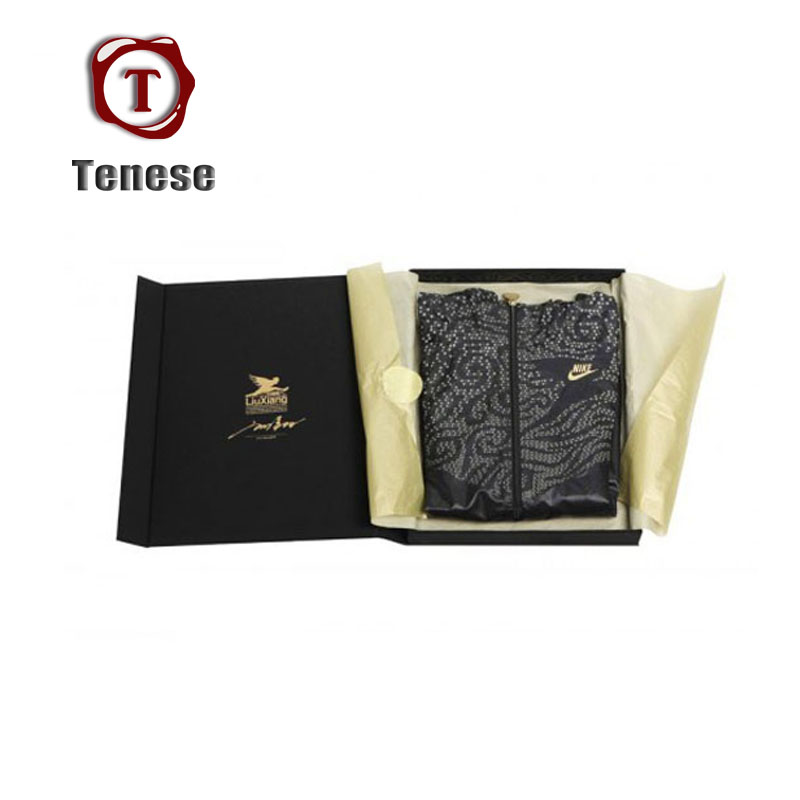 New Design Black Collapsible Paper Cardboard Folding Boxes