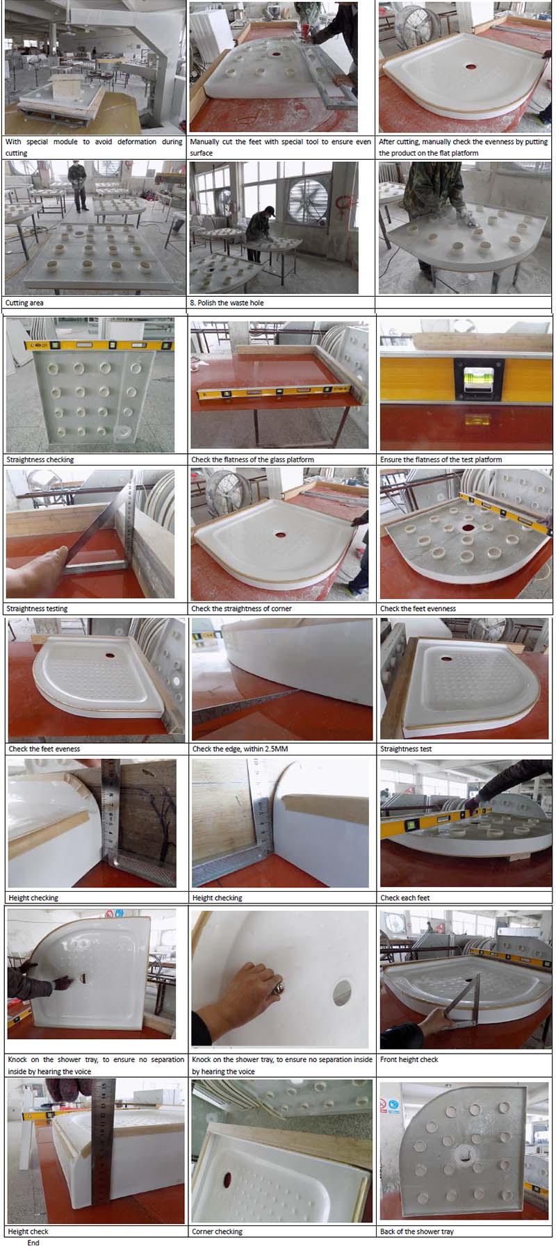 High Quality Popular Australia ABS Plastic Shower Base (ACT9292)