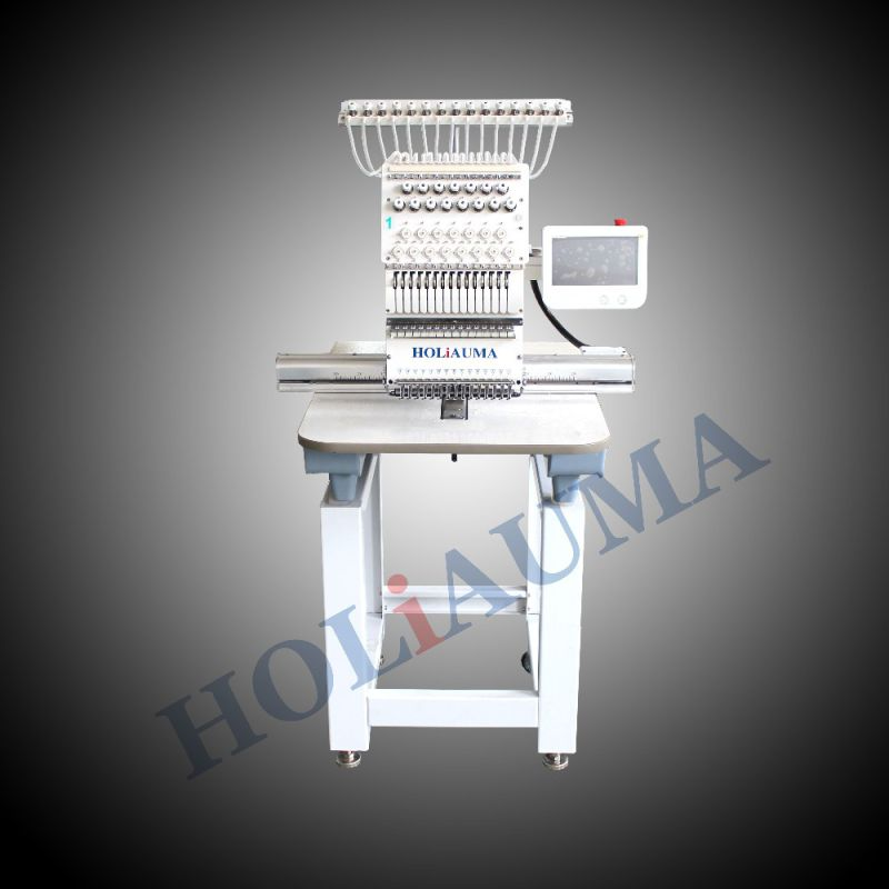 New Multifunction 15 Needles One Head Embroidery Machine