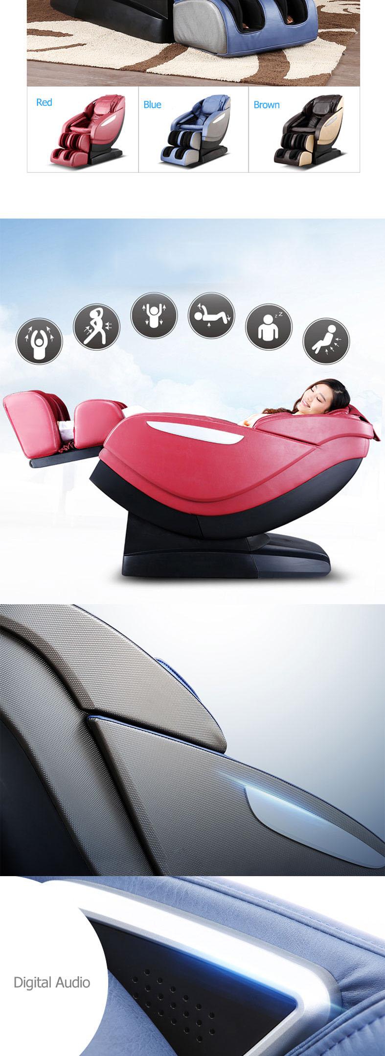 China Top Thai Shiatsu Reclining Massage Chair