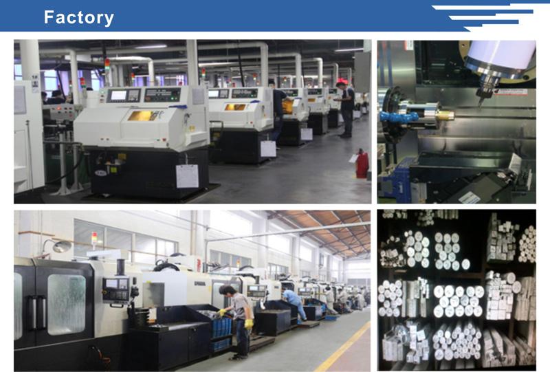 CNC Aluminum Flange Parts Hose Fittings