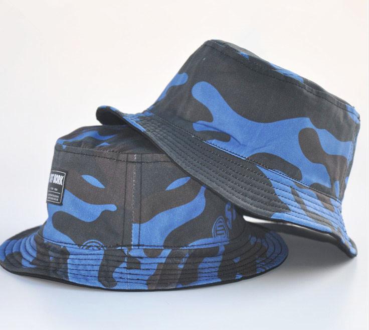 Custom Processing, Fisherman Hat Embroidery Bucket Hat