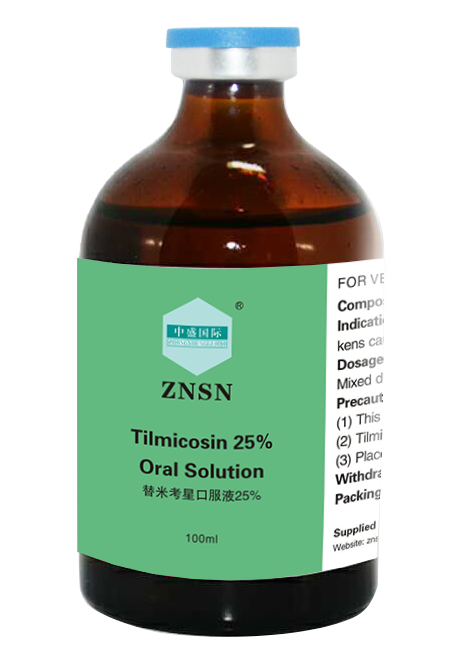 ZNSN Tilmicosin 10%&25% Oral Solution