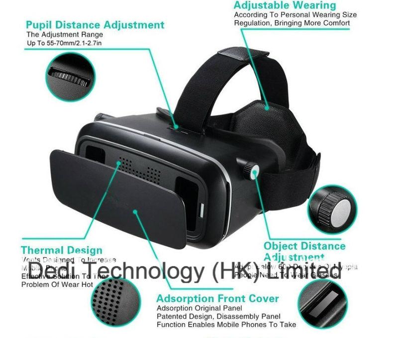 2016 New Virtual Reality Vr Glasses