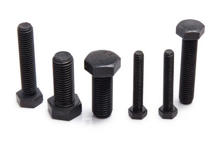 GB5783 Carbon Steel black oxide hex head bolt
