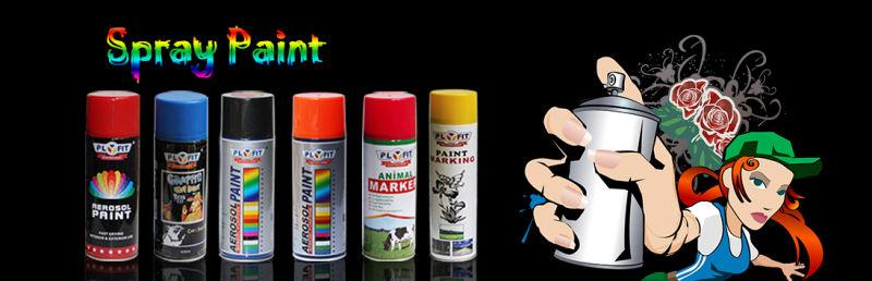 2017 Popular Auto Fluorescent Reflective Spray Paint