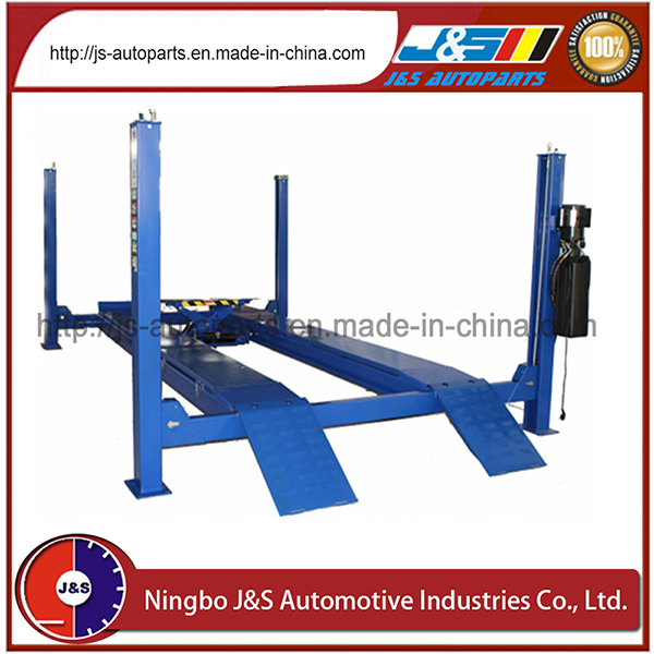 China Supplier Car Lift, 4000kgs/4t Car Lift, Ce Approved Without Secondary Lifting Trolley Four Post Car Lift
