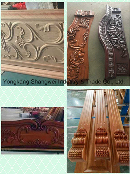 High Quality Exterior Elegant Meranti Solid Wooden Door