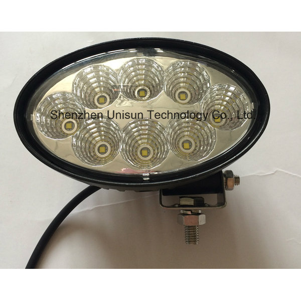 New 12V-24V 3000lm 8X5w 40W CREE LED Work Lamp