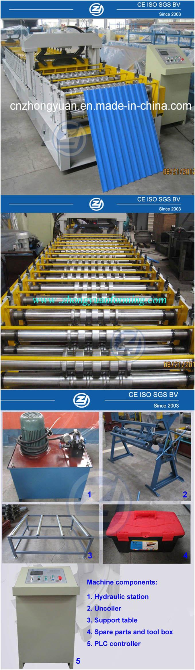 Panel Rolling Machine (ZYYX13-80-720)
