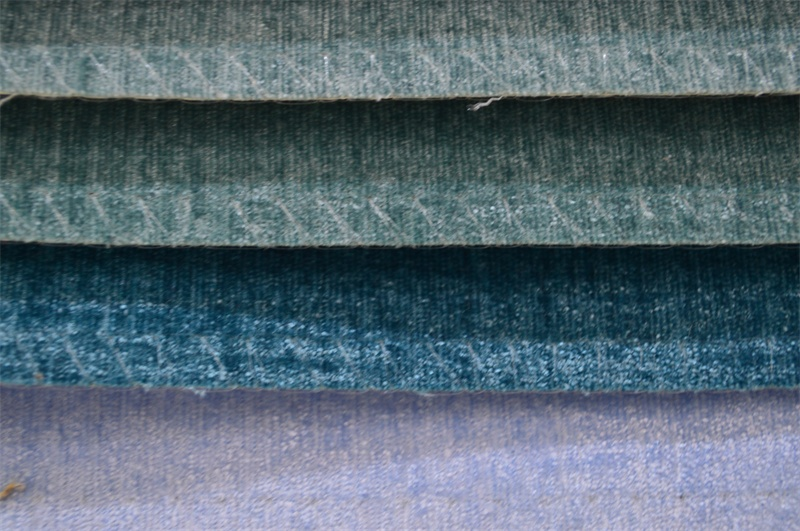Plain Chenille Fabric for Sofa Packing in Rolls (EDM0185)