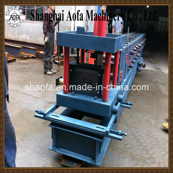 C Channel Cold Roll Forming Machinery (AF-C80-300)