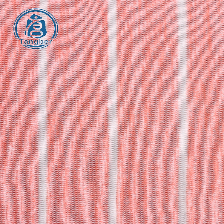 polyester cotton stripe fabric