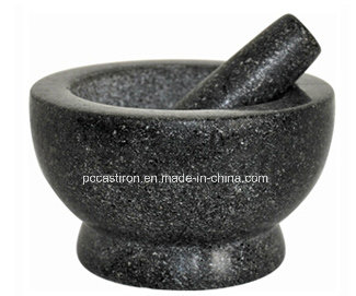 Marble Stone Mortars and Pestles From China