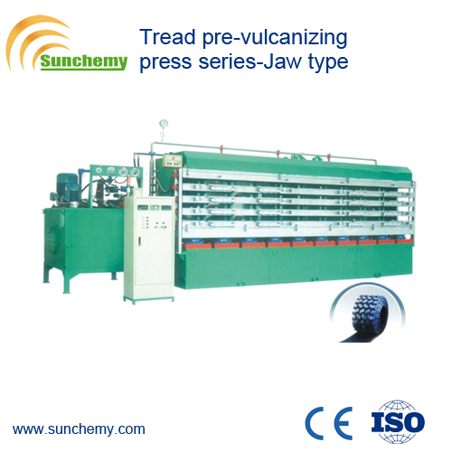 Top Qualified Rubber Jaw Type Tread Press