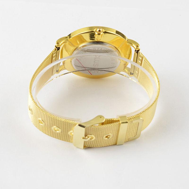 Water Resistant Quartz Movement Mesh Strap Watch