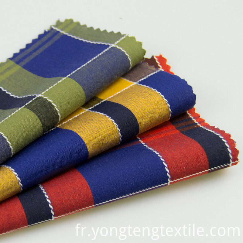 Yarn Dyed Madras Plaid