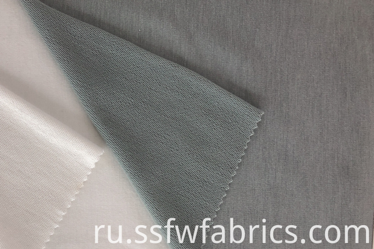Grey French Terry Cloth Fabric