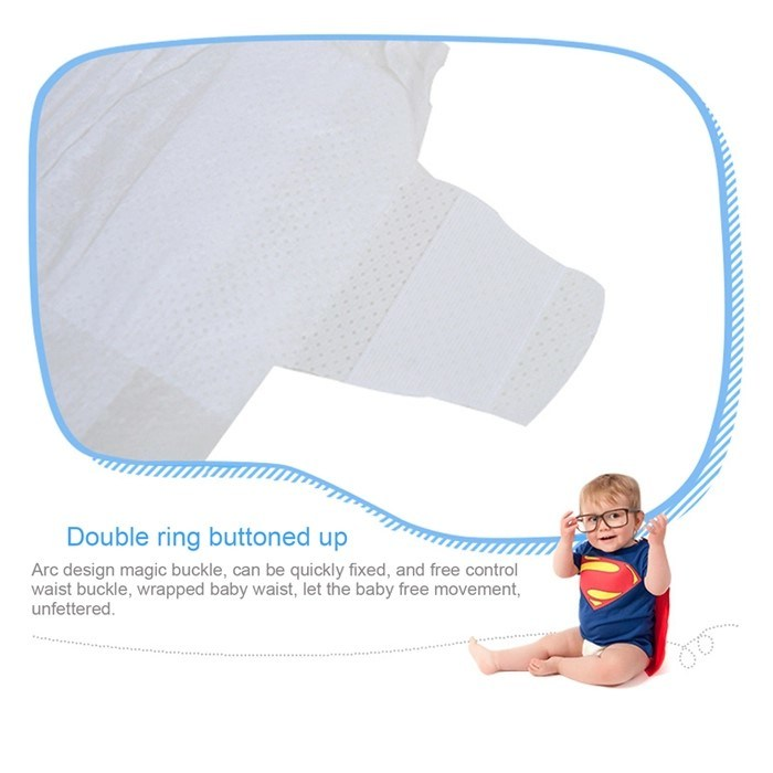 Strong Water Imbibition Baby Diaper