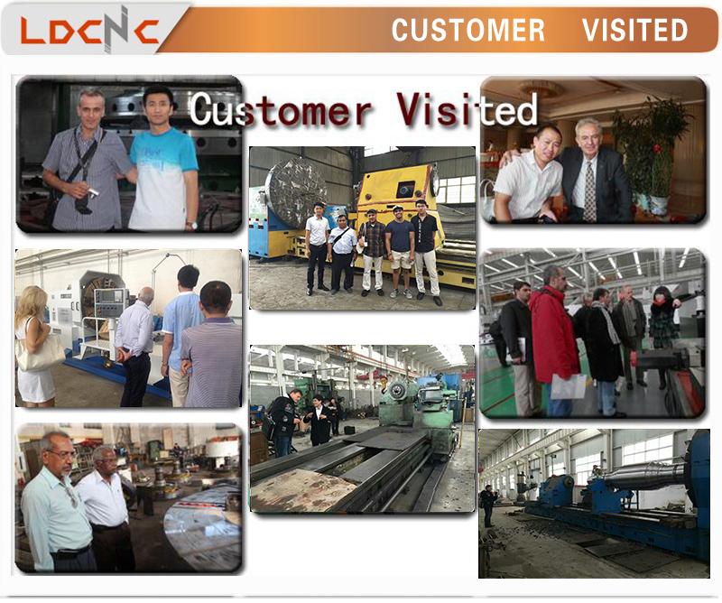 Qk 1313c Low Price Promotional CNC Pipe Threading Lathe Machine