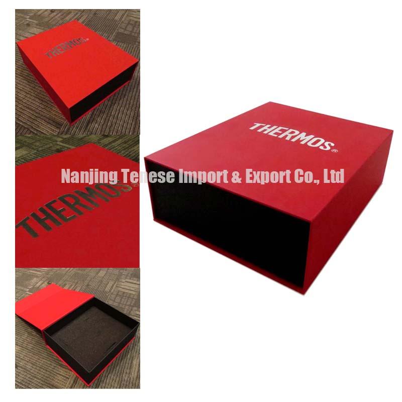 Luxury Custom Handmade Hot Stamping Packaging Gift Box