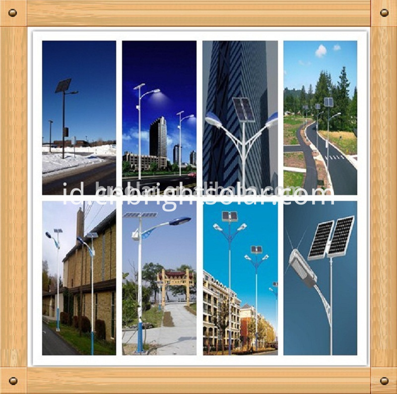 8M 60W Solar Street LED Light